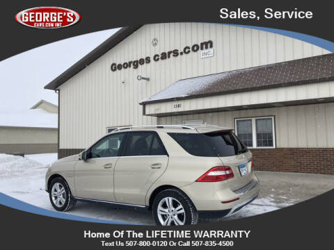 2012 Mercedes-Benz M-Class for sale at GEORGE'S CARS.COM INC in Waseca MN