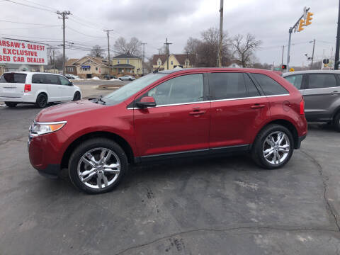 2013 Ford Edge for sale at N & J Auto Sales in Warsaw IN