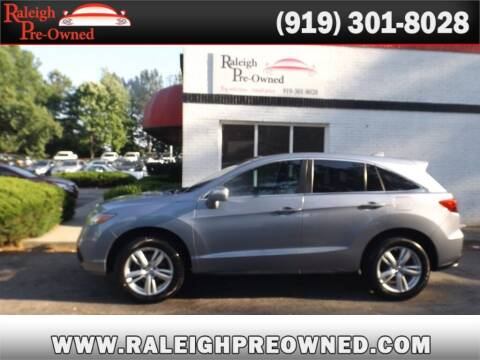 2014 Acura RDX for sale at Raleigh Pre-Owned in Raleigh NC