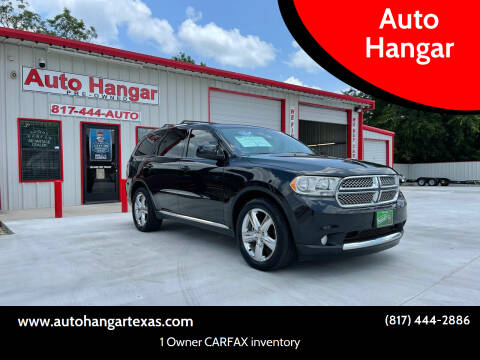 2013 Dodge Durango for sale at Auto Hangar in Azle TX