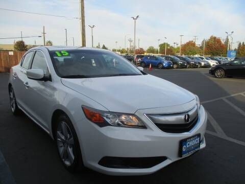 2015 Acura ILX for sale at Choice Auto & Truck in Sacramento CA
