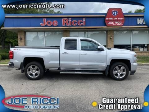 2018 Chevrolet Silverado 1500 for sale at JOE RICCI AUTOMOTIVE in Clinton Township MI