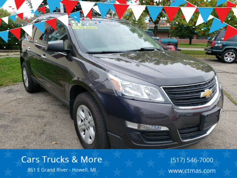 2017 Chevrolet Traverse for sale at Cars Trucks & More in Howell MI