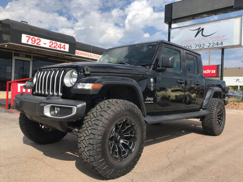 2020 Jeep Gladiator for sale at NORRIS AUTO SALES in Oklahoma City OK