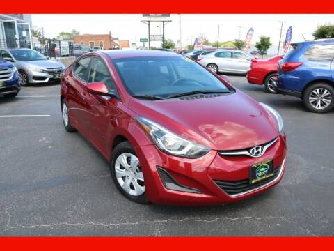 2016 Hyundai Elantra for sale at AUTO POINT USED CARS in Rosedale MD