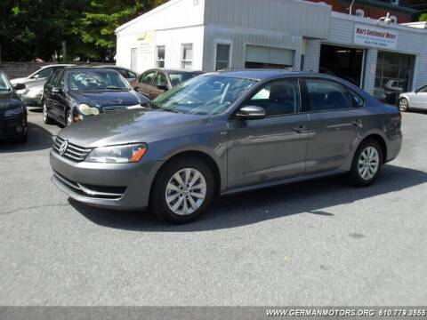 2015 Volkswagen Passat for sale at Mair's Continental Motors in Reading PA