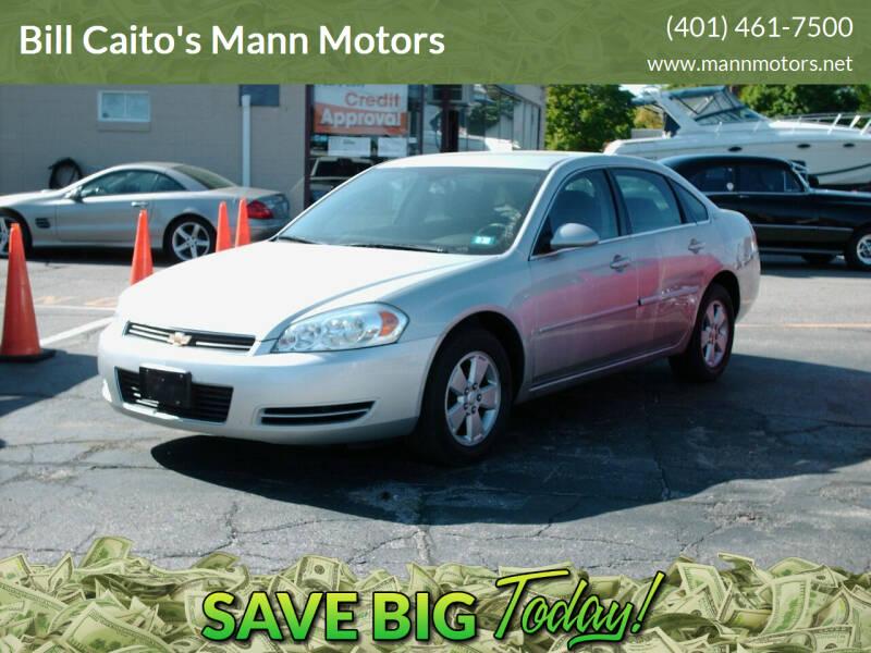 2007 Chevrolet Impala for sale at Bill Caito's Mann Motors in Warwick RI