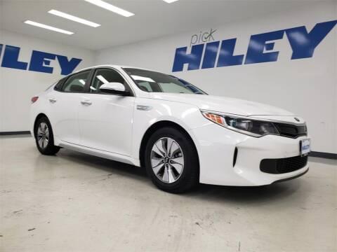 2017 Kia Optima Hybrid for sale at HILEY MAZDA VOLKSWAGEN of ARLINGTON in Arlington TX
