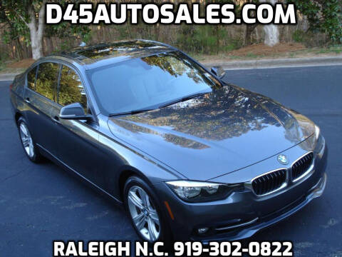 2016 BMW 3 Series for sale at D45 Auto Brokers in Raleigh NC