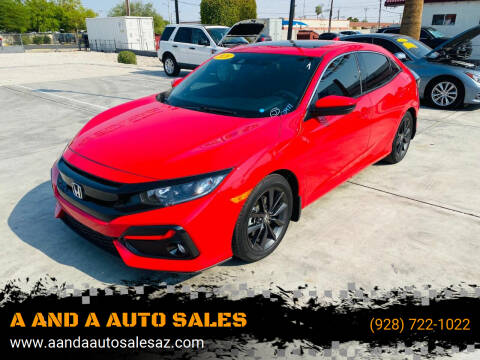 2020 Honda Civic for sale at A AND A AUTO SALES in Gadsden AZ