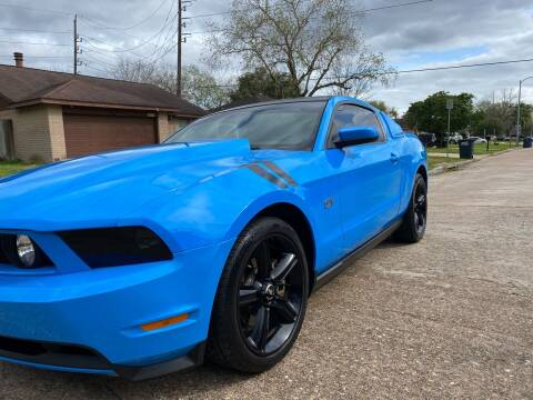 2010 Ford Mustang for sale at Demetry Automotive in Houston TX