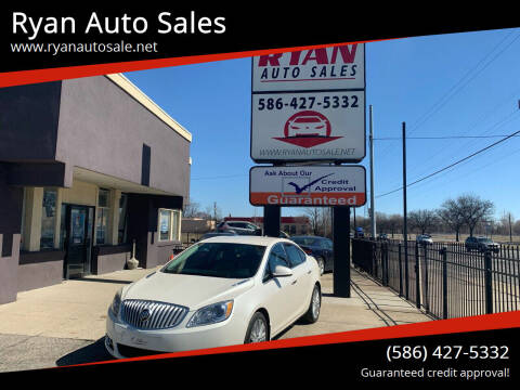 2014 Buick Verano for sale at Ryan Auto Sales in Warren MI