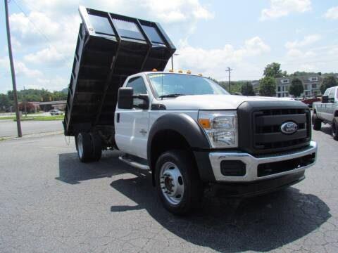 2012 Ford F-550 Super Duty for sale at Hibriten Auto Mart in Lenoir NC