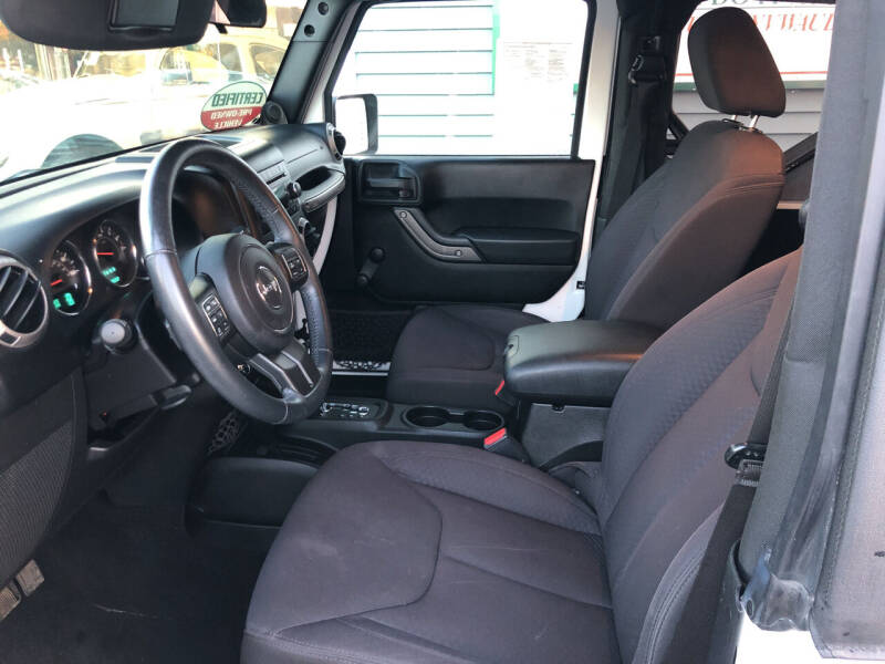 2013 Jeep Wrangler 4x4 Sport 2dr SUV - North Weymouth MA