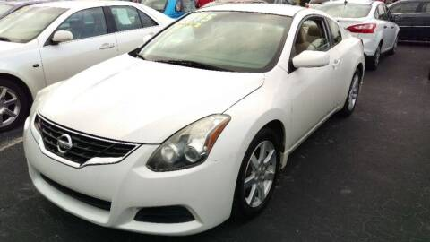 2012 Nissan Altima for sale at Tony's Auto Sales in Jacksonville FL
