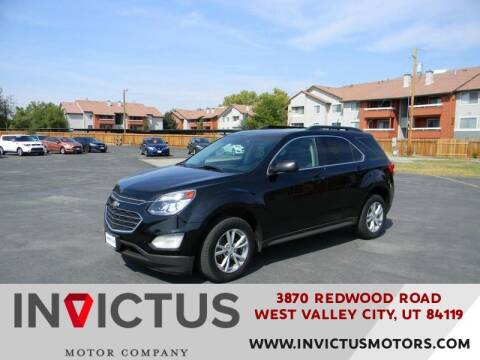 2017 Chevrolet Equinox for sale at INVICTUS MOTOR COMPANY in West Valley City UT