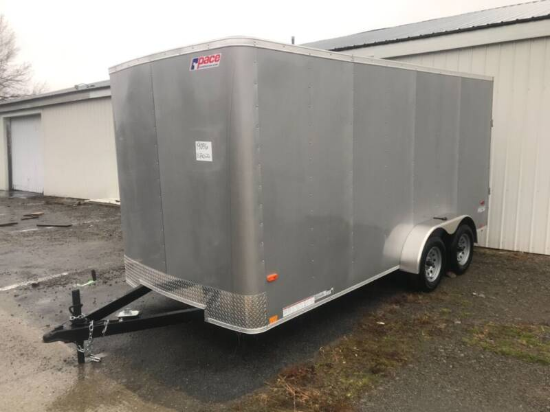 2021 Pace American 7x16 Rounded front Dual Axle for sale at Forkey Auto & Trailer Sales in La Fargeville NY