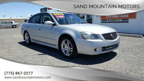 2005 Nissan Altima for sale at Sand Mountain Motors in Fallon NV
