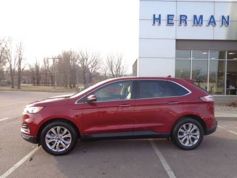 2019 Ford Edge for sale at Herman Motors in Luverne MN