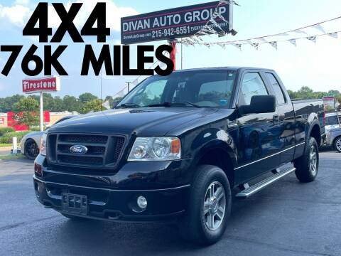 2008 Ford F-150 for sale at Divan Auto Group in Feasterville Trevose PA