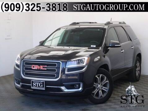 2016 GMC Acadia for sale at STG Auto Group in Montclair CA