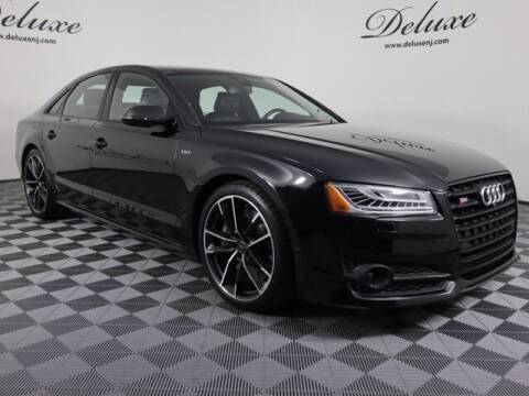 2018 Audi S8 plus for sale at DeluxeNJ.com in Linden NJ