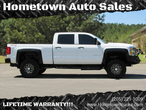 2015 Chevrolet Silverado 2500HD for sale at Hometown Auto Sales - Trucks in Jasper AL