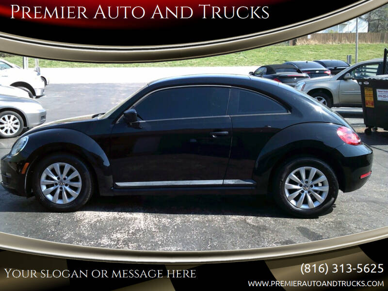 2013 Volkswagen Beetle for sale at Premier Auto And Trucks in Independence MO
