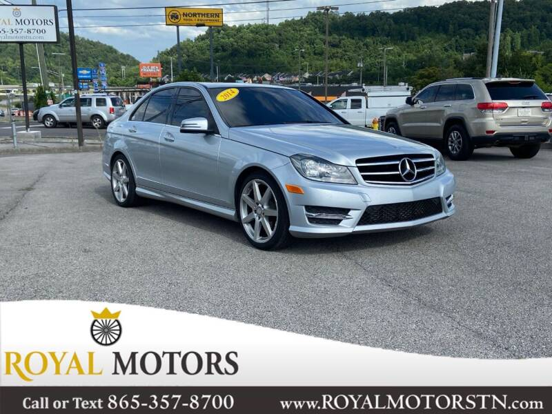 2014 Mercedes-Benz C-Class for sale at ROYAL MOTORS LLC in Knoxville TN