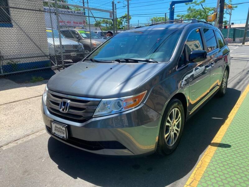 2012 Honda Odyssey for sale at DEALS ON WHEELS in Newark NJ