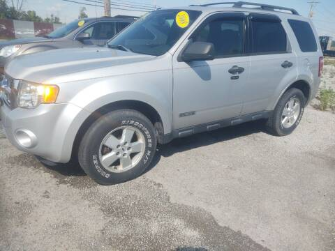 2008 Ford Escape for sale at Mr E's Auto Sales in Lima OH