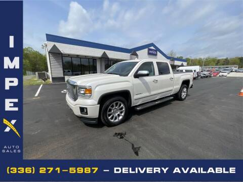 2015 GMC Sierra 1500 for sale at Impex Auto Sales in Greensboro NC