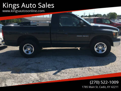 2006 Dodge Ram Pickup 1500 for sale at Kings Auto Sales in Cadiz KY