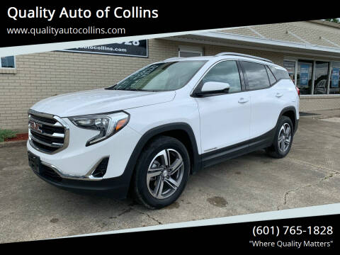2019 GMC Terrain for sale at Quality Auto of Collins in Collins MS