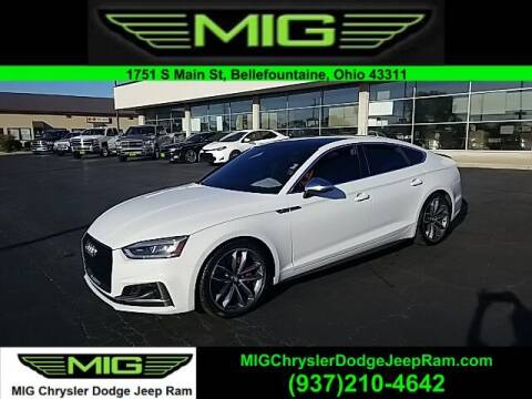 2018 Audi S5 Sportback for sale at MIG Chrysler Dodge Jeep Ram in Bellefontaine OH