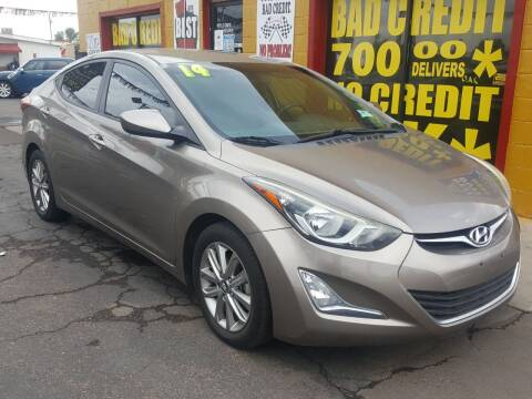 2014 Hyundai Elantra for sale at Sunday Car Company LLC in Phoenix AZ