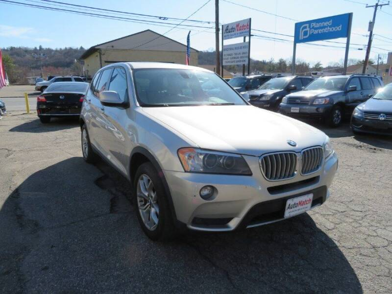 2013 BMW X3 for sale at Auto Match in Waterbury CT