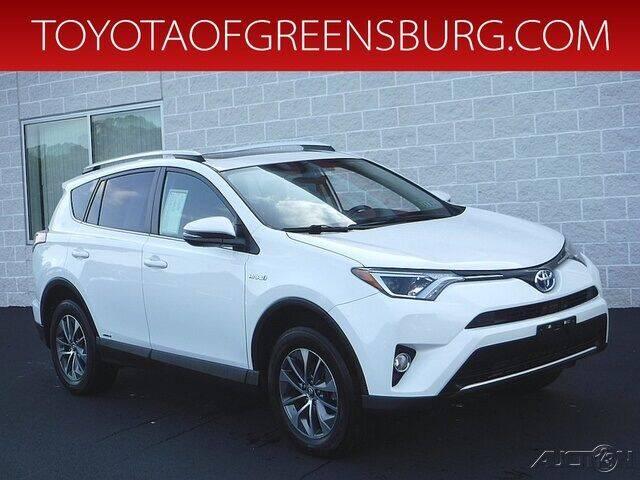 2016 Toyota RAV4 Hybrid for sale in Greensburg, PA