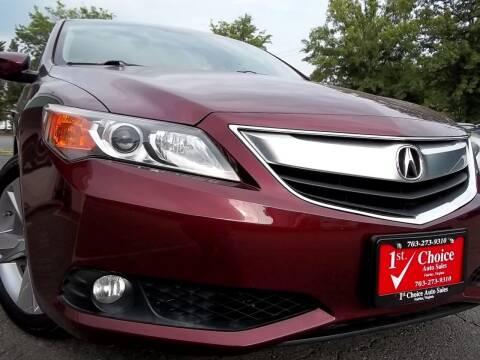 2013 Acura ILX for sale at 1st Choice Auto Sales in Fairfax VA