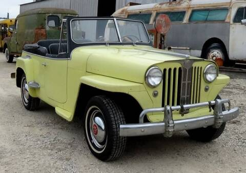 1948 Willys Jeepster for sale at Classic Car Deals in Cadillac MI
