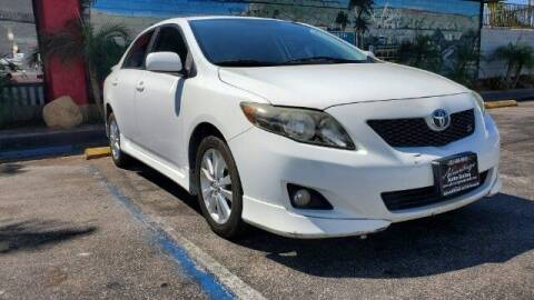 2010 Toyota Corolla for sale at ADVANTAGE AUTO SALES INC in Bell CA