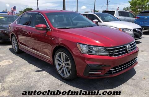 2017 Volkswagen Passat for sale at AUTO CLUB OF MIAMI, INC in Miami FL
