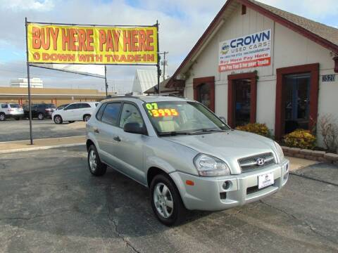 2007 Hyundai Tucson for sale at Crown Used Cars in Oklahoma City OK