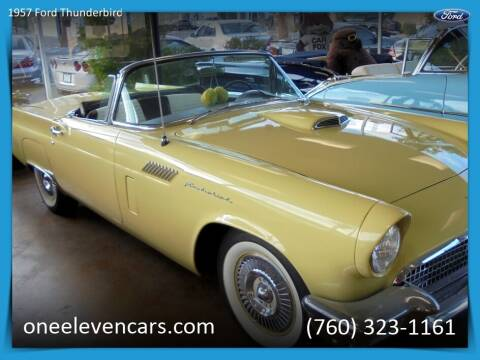 1957 Ford Thunderbird for sale at One Eleven Vintage Cars in Palm Springs CA