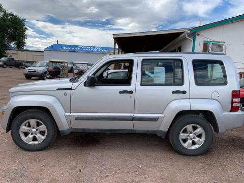 2011 Jeep Liberty for sale at PYRAMID MOTORS - Fountain Lot in Fountain CO