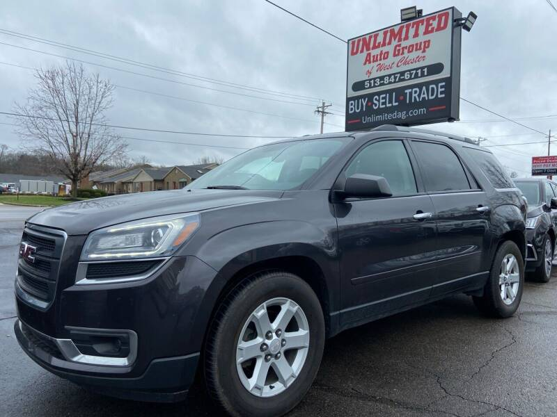 2015 GMC Acadia for sale at Unlimited Auto Group in West Chester OH