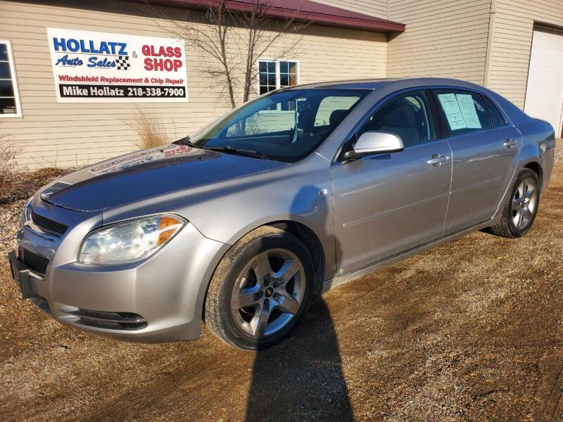 2008 Chevrolet Malibu for sale at Hollatz Auto Sales in Parkers Prairie MN
