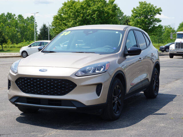 2020 Ford Escape Hybrid for sale at FOWLERVILLE FORD in Fowlerville MI