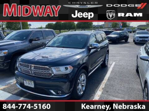 2016 Dodge Durango for sale at MIDWAY CHRYSLER DODGE JEEP RAM in Kearney NE