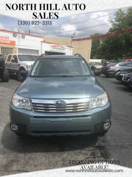 2010 Subaru Forester for sale at North Hill Auto Sales in Akron OH
